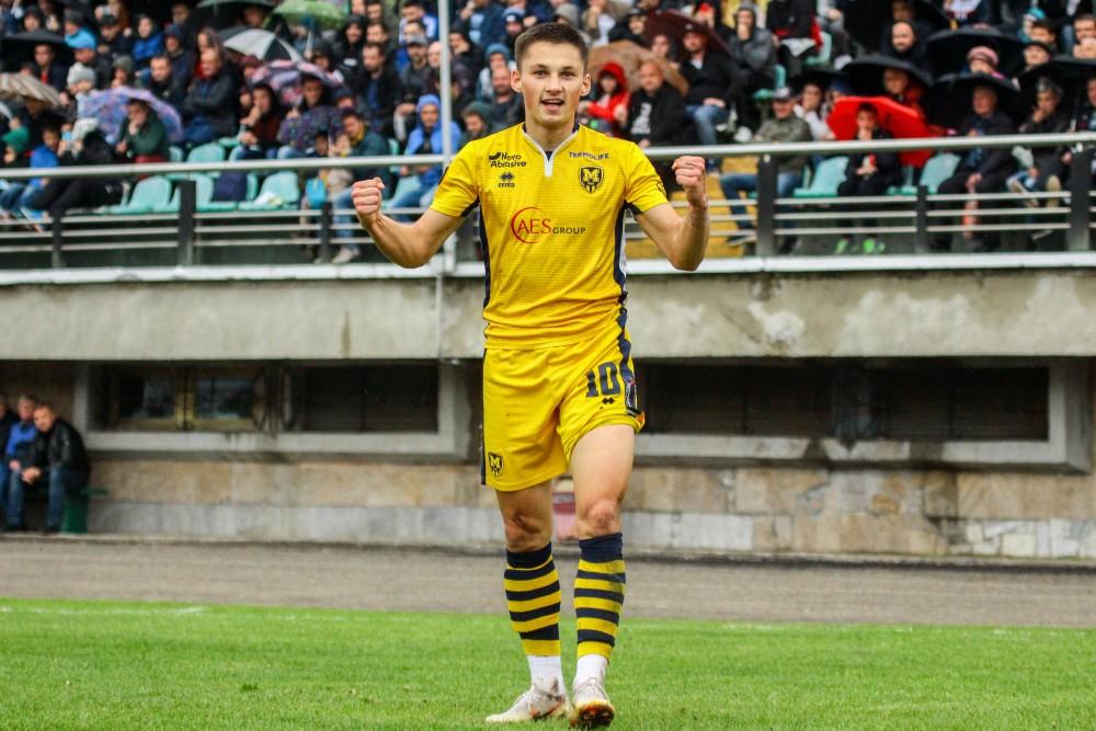 Олег Синиця - найкращий гравець матчу